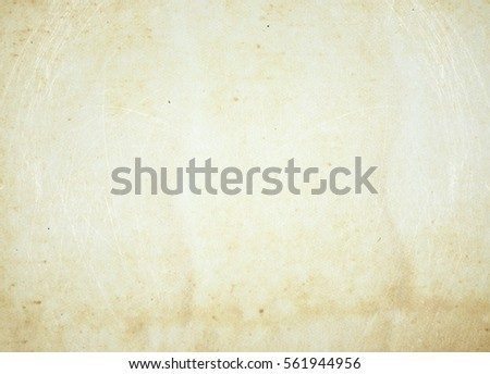brown empty old vintage paper background. Paper texture - Shutterstock ID 561944956