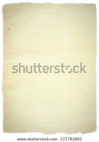 brown empty old vintage paper background. Paper texture - Shutterstock ID 572782882