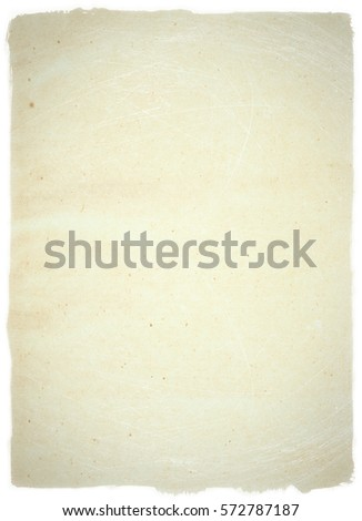 brown empty old vintage paper background. Paper texture - Shutterstock ID 572787187