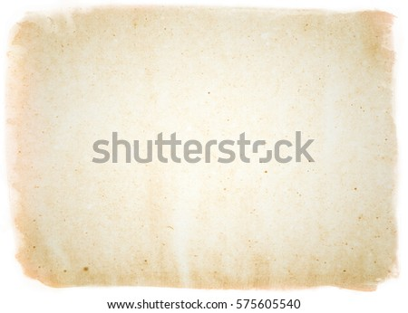 brown empty old vintage paper background. Paper texture - Shutterstock ID 575605540