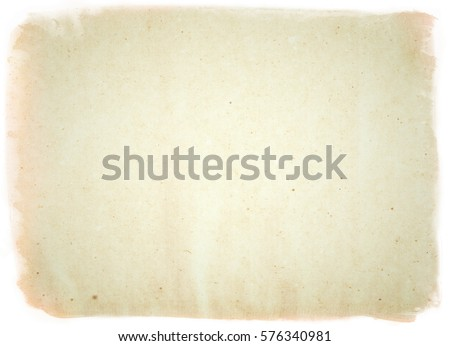 brown empty old vintage paper background. Paper texture - Shutterstock ID 576340981