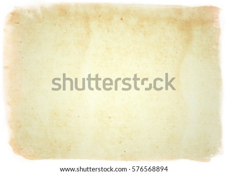 brown empty old vintage paper background. Paper texture - Shutterstock ID 576568894