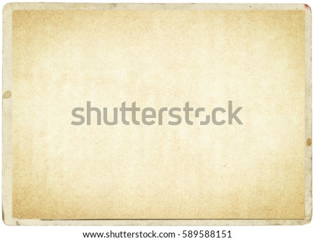 brown empty old vintage paper background. Paper texture - Shutterstock ID 589588151