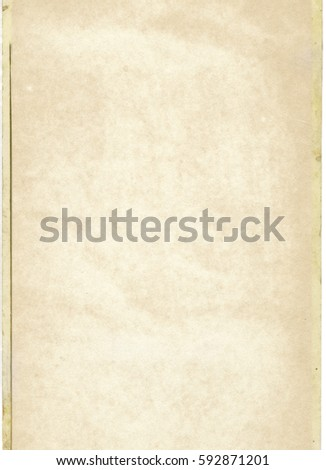 brown empty old vintage paper background. Paper texture - Shutterstock ID 592871201