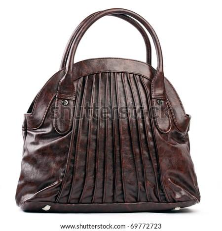 Brown female bag