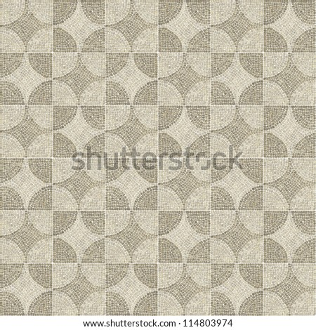 Brown full marble-stone mosaic texture. (High.res.)