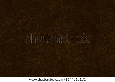 brown fur as brown background