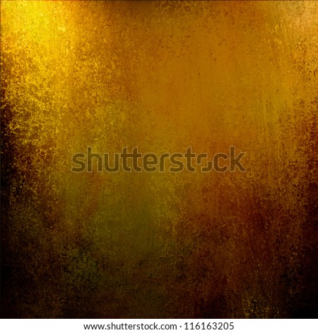 brown gold background abstract paint on black border, vintage grunge background gold texture web design, warm shiny light background Christmas wrapping paper, autumn Thanksgiving brochure, halloween