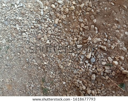 Brown ground ground patterned stone background