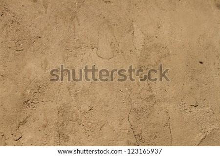 Brown ground texture. #123165937