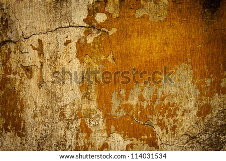 Brown grunge background texture wall