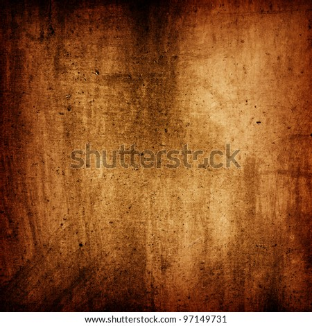 Brown grunge wall texture useful as background