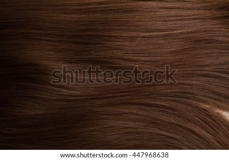 Brown hair. Textures, background Stock photo ©