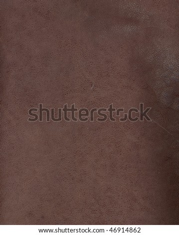 brown leather background textured with graining patterns