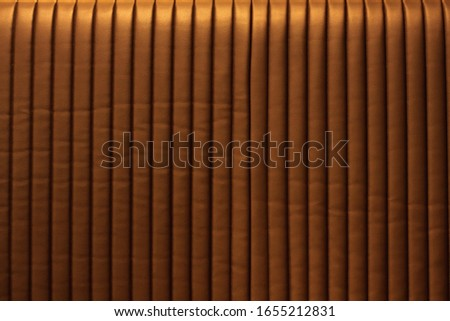 Brown leather Sofa for textured background