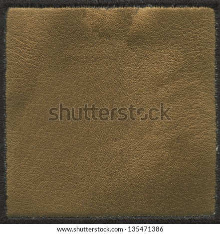 brown leather texture, can be used as background #135471386