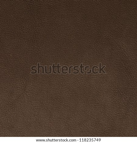 Brown leather texture closeup backgroud.