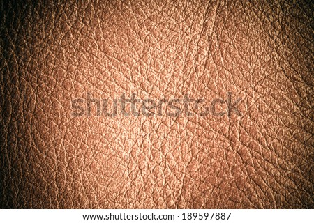 Brown leather texture closeup grunge background. Country western background, cowboy rawhide design, abstract pattern