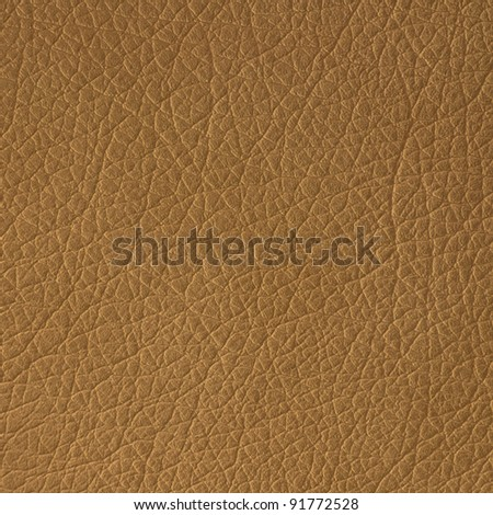 Brown leather texture closeup, useful as background