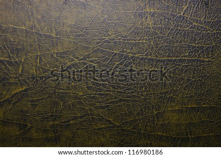 Brown leather texture closeup. Useful as background for design works