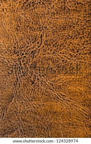 Brown leather texture for background usage