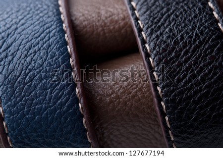 brown leather texture. vintage background