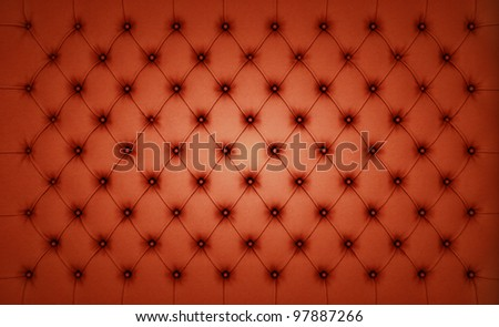 Brown Luxury buttoned leather pattern. Large resolution