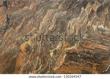 Brown Marble Granite Stone slab surface