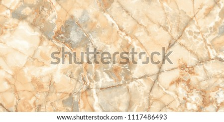 brown natural marble with radish colored glass effect texture #1117486493