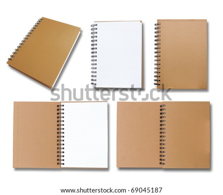 Brown note book collection