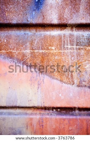 Brown, Orange, Red Grunge Background