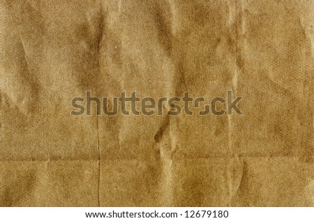 Brown Paper Bag Textured