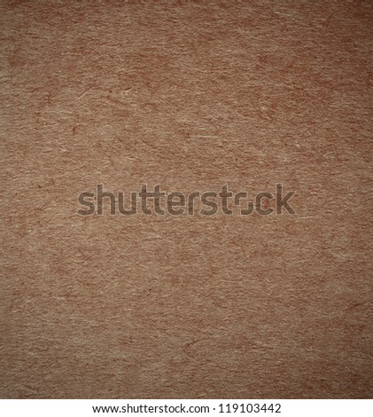 Brown paper cardboard surface