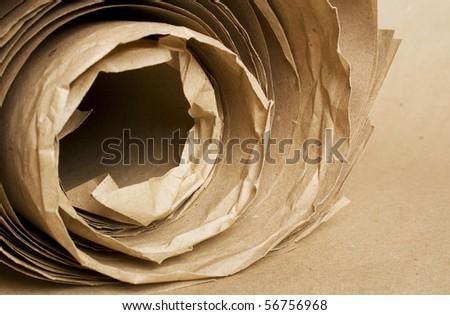 brown paper kraft roll