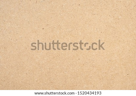 Brown paper texture background from a paper box packaging. Paper cardboard background concept ストックフォト ©