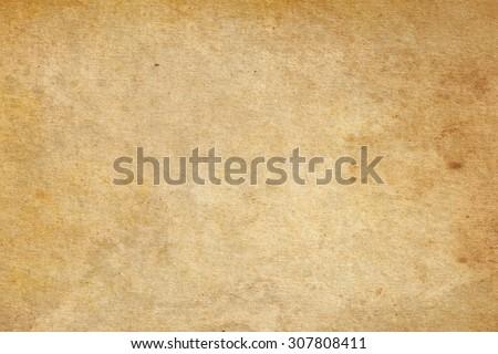 Brown paper texture. Vintage paper background Stockfoto ©