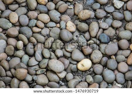 Brown pebbles background,Brown pebbles,Gravel background