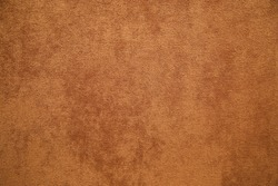 brown plush fabric close-up - texture