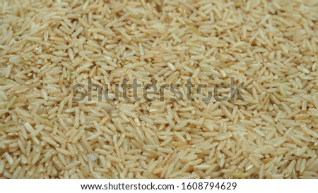 Brown Rice background,Brown Rice close-up
