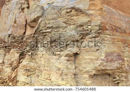 Brown rock texture #754601488