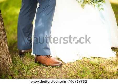6013754aa8 Free photos Person Wearing Brown Pants and Black and White Shoes ...