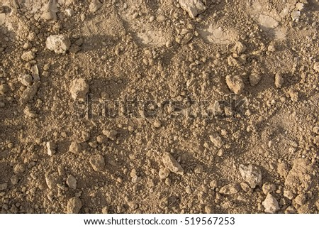 Brown soil texture
