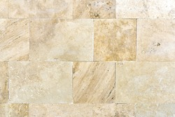 Brown stone tiles, background, texture
