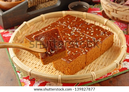 brown sugar cake