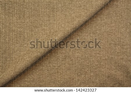 brown textile fabric background texture or pattern of clothing
