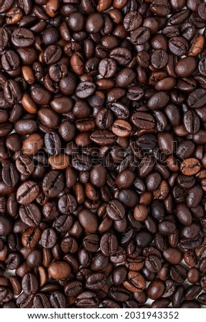 brown texture coffee beans background Photo stock ©