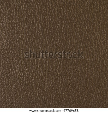 Brown textured leather surface