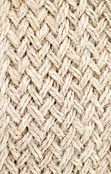 brown twine that weaving as braid