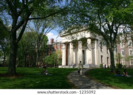 Brown University campus, Providence, Rhode Island