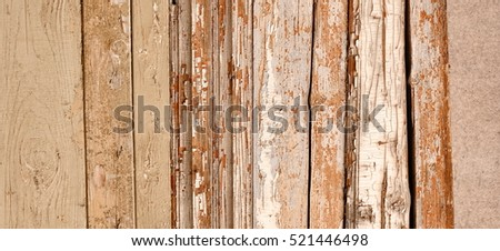 Brown Wide Rustic Vintage Horizontal Empty Wood Planking Background Wooden Exterior Or Interior Wall